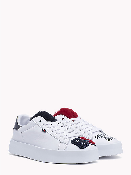 TOMMY JEANS Lightweight Retro Trainers - WHITE - TOMMY JEANS Shoes & Accessories - main image