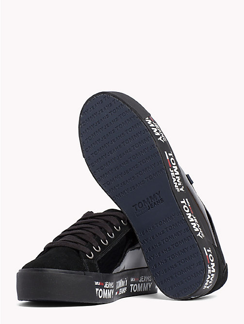 TOMMY JEANS Logo City Trainers - BLACK - TOMMY JEANS Shoes & Accessories - detail image 1