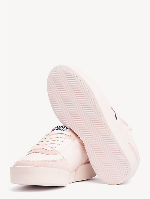 TOMMY JEANS Lightweight Contrast Panel Trainers - SILVER PEONY - TOMMY JEANS Shoes & Accessories - detail image 1