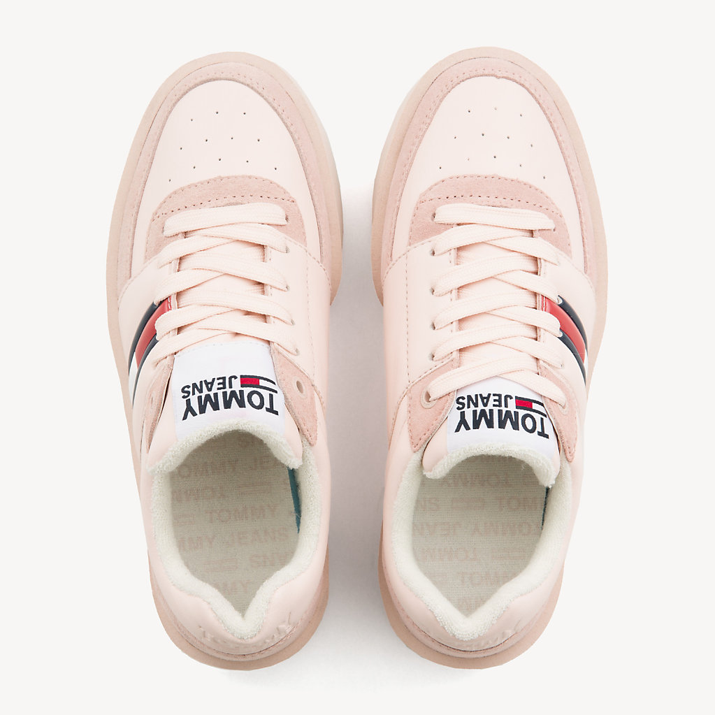 Tommy Hilfiger - Lightweight Contrast Panel Trainers - 4