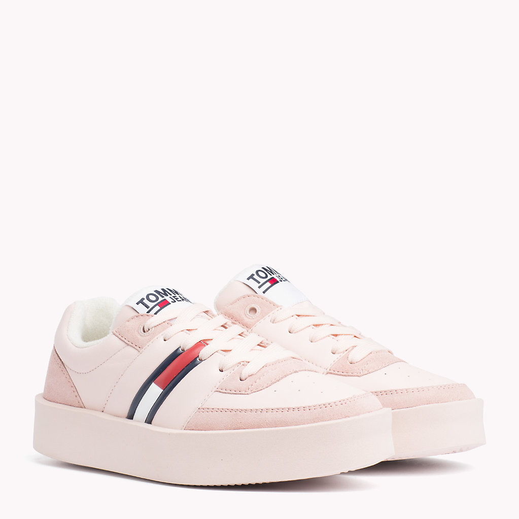 Tommy Hilfiger - Lightweight Contrast Panel Trainers - 1