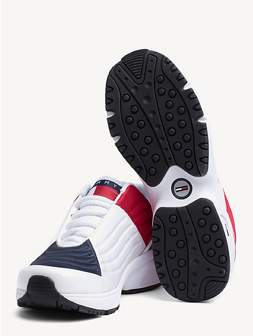 TOMMY JEANS 6.0 Crest Low Rise Trainers - RWB - TOMMY JEANS TOMMY JEANS Capsule - detail image 1