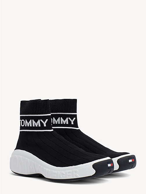 aebd3a47aed8 TOMMY JEANSKnit Sock Boot Trainers