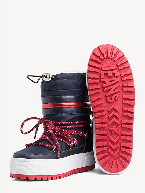TOMMY JEANS Tommy Jeans Signature Snowboots - MIDNIGHT - TOMMY JEANS Shoes & Accessories - detail image 1