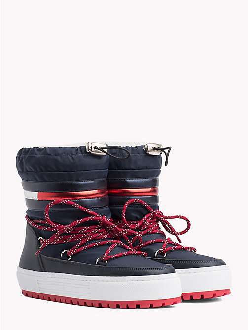 TOMMY JEANS Tommy Jeans Signature Snowboots - MIDNIGHT - TOMMY JEANS Shoes & Accessories - main image
