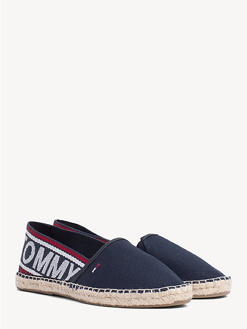 TOMMY JEANS Pop Logo Webbing Espadrilles - MIDNIGHT - TOMMY JEANS Shoes & Accessories - main image