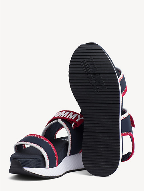 TOMMY JEANS Hybrid Neoprene Sandals - MIDNIGHT - TOMMY JEANS Shoes & Accessories - detail image 1