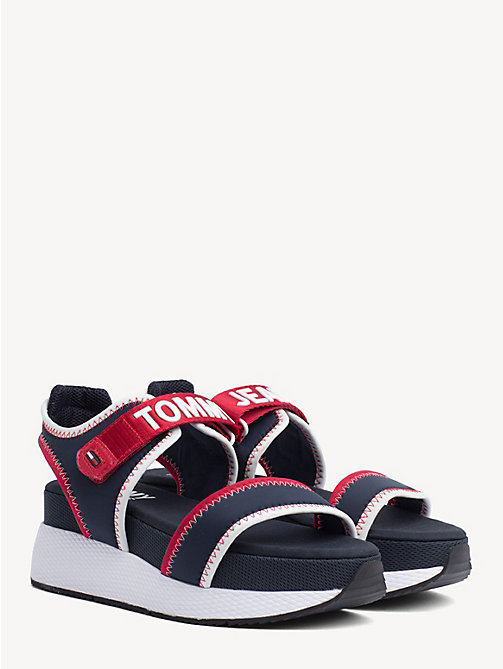 TOMMY JEANS Hybrid Neoprene Sandals - MIDNIGHT - TOMMY JEANS Shoes & Accessories - main image