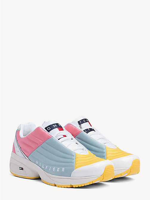 ea67a0ff9fc TOMMY JEANSColour-Blocked Lace-Up Trainers