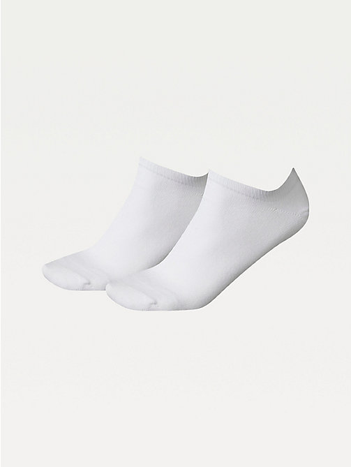 TOMMY HILFIGER 2-Pack Pastel Trainer Socks - WHITE - TOMMY HILFIGER Socks & Hosiery - main image