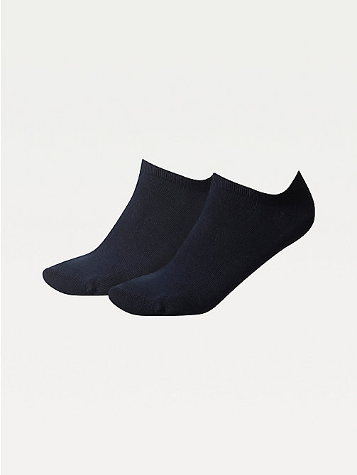TOMMY HILFIGER 2-Pack Pastel Trainer Socks - MIDNIGHT BLUE - TOMMY HILFIGER Socks & Hosiery - main image