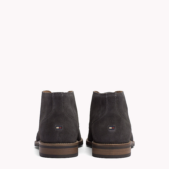 TOMMY HILFIGER Suede Ankle Boots - MIDNIGHT - TOMMY HILFIGER Men - detail image 2