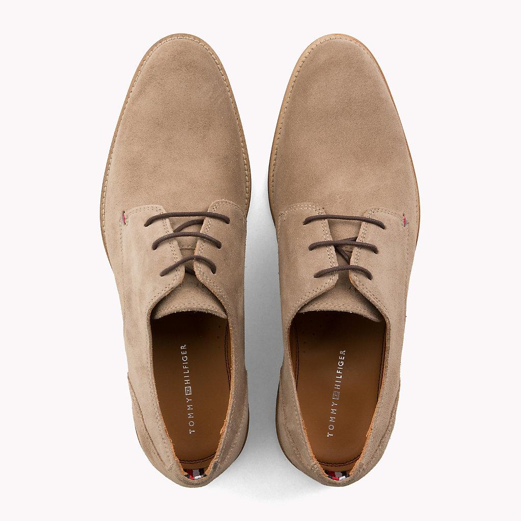 Tommy Hilfiger - Zapatos derby de ante - 4