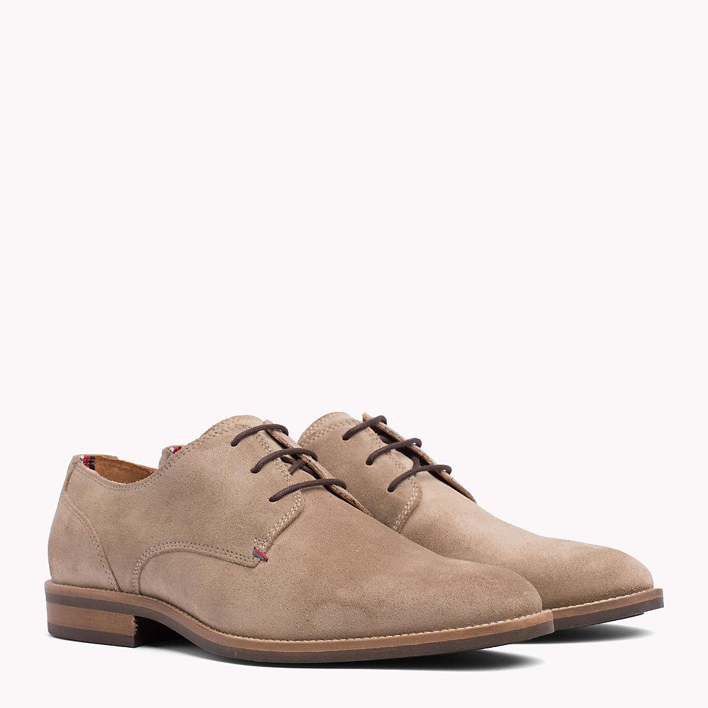 Tommy Hilfiger - Zapatos derby de ante - 1