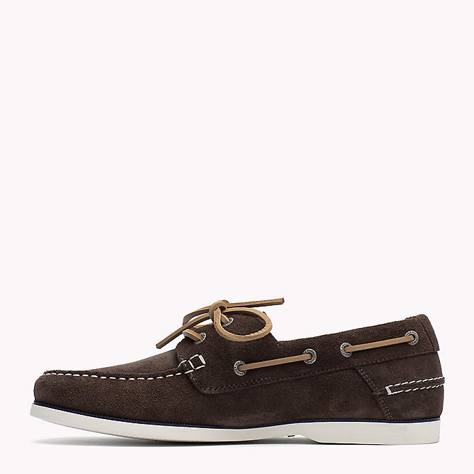 TOMMY HILFIGER Classic Leather Boat Shoes - JEANS - TOMMY HILFIGER Men - detail image 2
