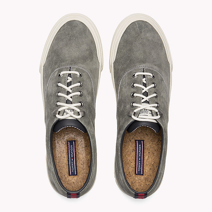 TOMMY HILFIGER Sneakers Heritage in suede - JEANS - TOMMY HILFIGER Uomini - dettaglio immagine 3