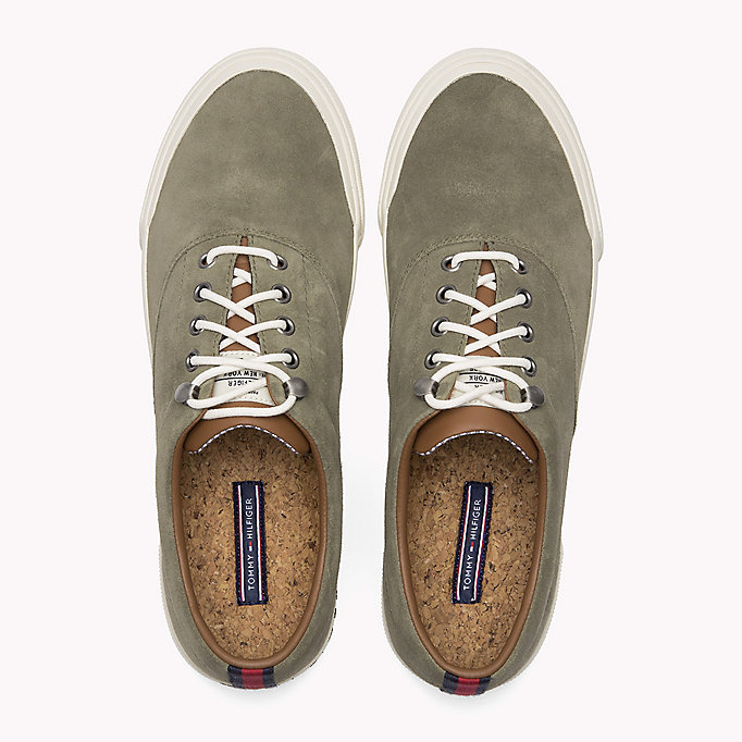 TOMMY HILFIGER Sneakers Heritage in suede -  - TOMMY HILFIGER Uomini - dettaglio immagine 3