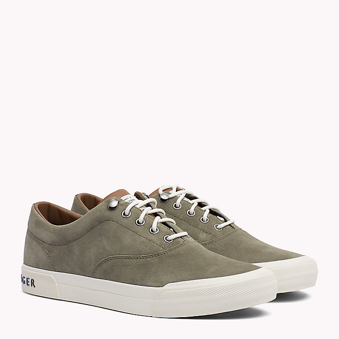 TOMMY HILFIGER Heritage Suede Trainers -  - TOMMY HILFIGER Men - main image