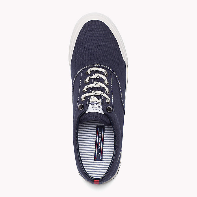 TOMMY HILFIGER Heritage Suede Trainers - WHITE - TOMMY HILFIGER Men - detail image 1