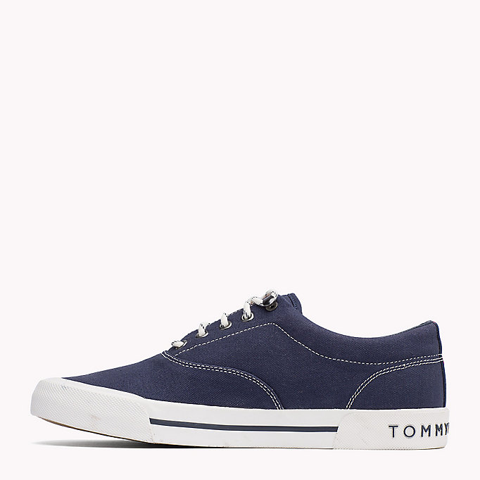 TOMMY HILFIGER Heritage Suede Trainers - WHITE - TOMMY HILFIGER Men - detail image 2