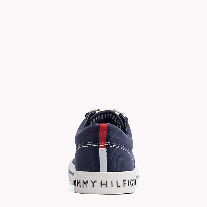 TOMMY HILFIGER Heritage Suede Trainers - WHITE - TOMMY HILFIGER Men - detail image 3