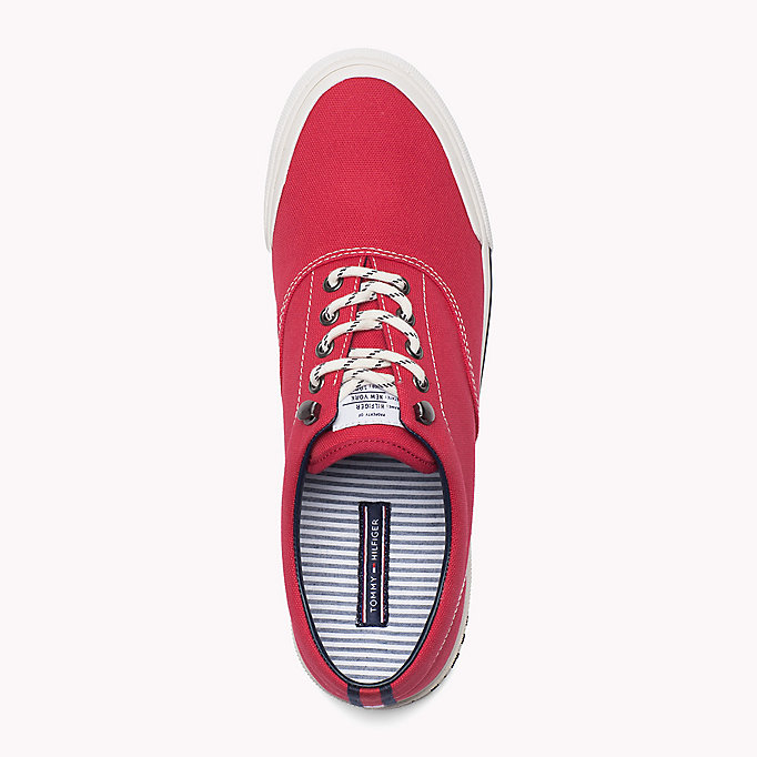 TOMMY HILFIGER Heritage Suede Trainers - TOMMY NAVY - TOMMY HILFIGER Men - detail image 1