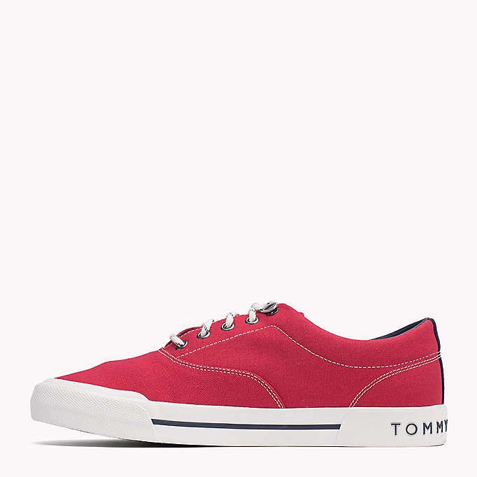 TOMMY HILFIGER Heritage Suede Trainers - TOMMY NAVY - TOMMY HILFIGER Men - detail image 2