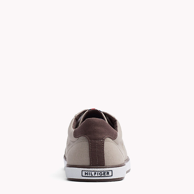 TOMMY HILFIGER Sneakers aus Canvas - STEEL GREY - TOMMY HILFIGER Herren - main image 3