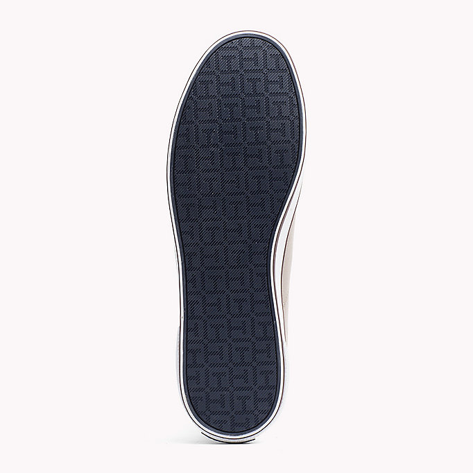 TOMMY HILFIGER Canvas Sneaker - STEEL GREY - TOMMY HILFIGER Men - detail image 4