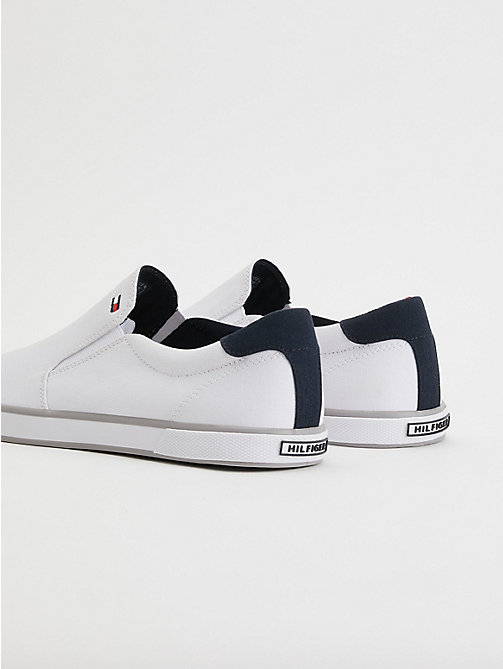 TOMMY HILFIGER Slip-On Trainers - WHITE - TOMMY HILFIGER Best Sellers - detail image 1
