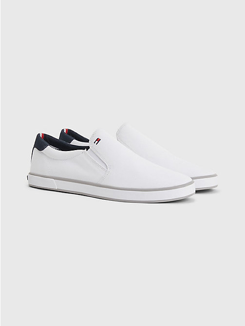 TOMMY HILFIGER Sneakers slip-on - WHITE - TOMMY HILFIGER Piu' Venduti - immagine principale