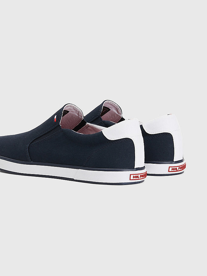 TOMMY HILFIGER Slip-On Trainers - WHITE - TOMMY HILFIGER Men - detail image 1