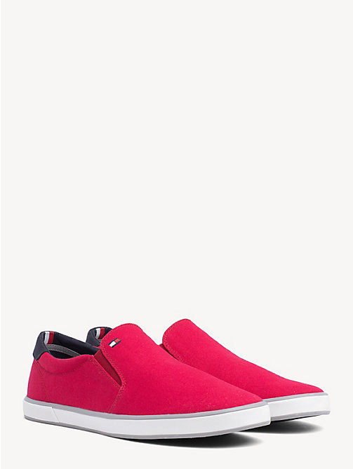 TOMMY HILFIGER Slip-On Trainers - TANGO RED - TOMMY HILFIGER Sneakers - main image