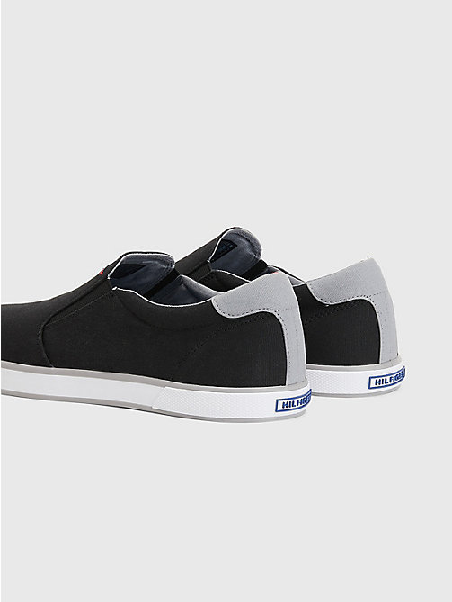 TOMMY HILFIGER Slip-On Trainers - BLACK - TOMMY HILFIGER Sneakers - detail image 1