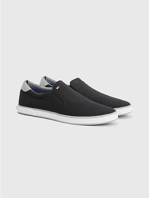 TOMMY HILFIGER Slip-On Trainers - BLACK - TOMMY HILFIGER Sneakers - main image