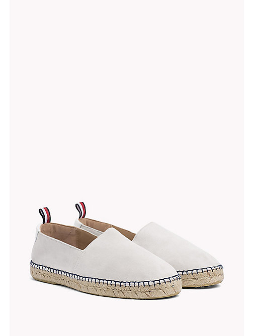 TOMMY HILFIGER Suede Espadrilles - ICE - TOMMY HILFIGER Summer shoes - main image