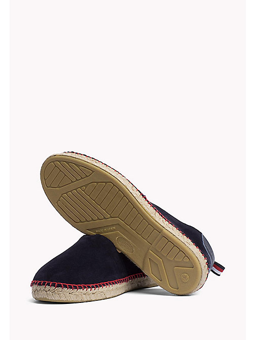 TOMMY HILFIGER Suede Espadrilles - MIDNIGHT - TOMMY HILFIGER Shoes - detail image 1