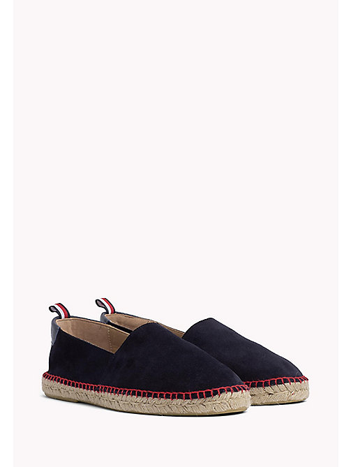 TOMMY HILFIGER Suede Espadrilles - MIDNIGHT - TOMMY HILFIGER Shoes - main image