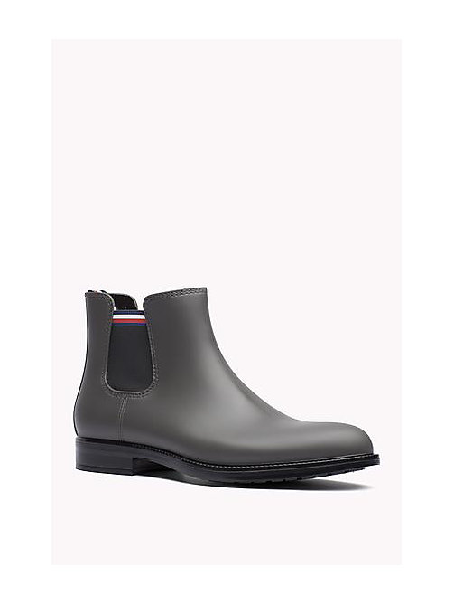 TOMMY HILFIGER Ankle Rubber Boot - STEEL GREY - TOMMY HILFIGER Shoes - main image