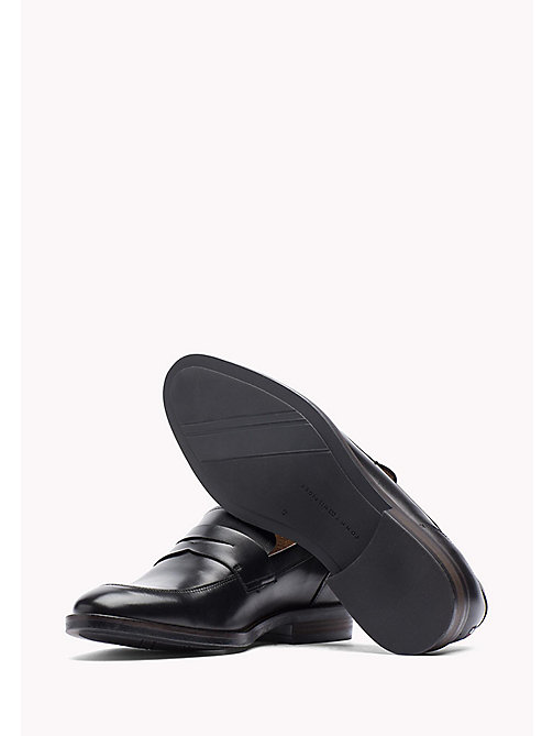 TOMMY HILFIGER Leather Dress Shoe - BLACK - TOMMY HILFIGER Shoes - detail image 1