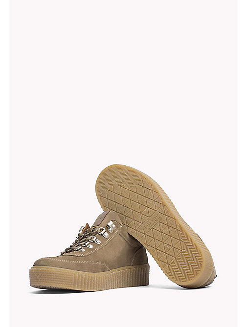 TOMMY JEANS Suede Sneaker - TIMBER WOLF - TOMMY JEANS Shoes - detail image 1