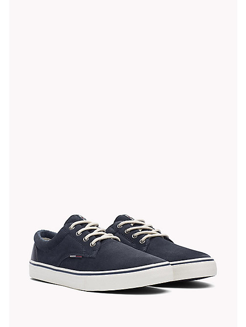TOMMY JEANS Suede Sneaker - INK - TOMMY JEANS Shoes - main image