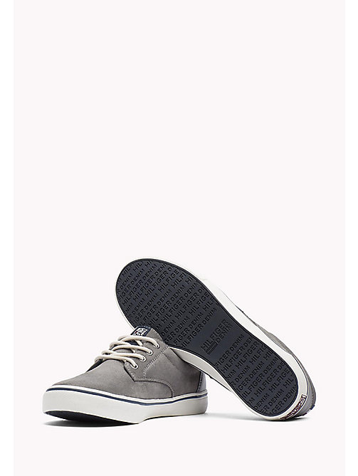 TOMMY JEANS Suede Sneaker - CITY GREY - TOMMY JEANS Shoes - detail image 1