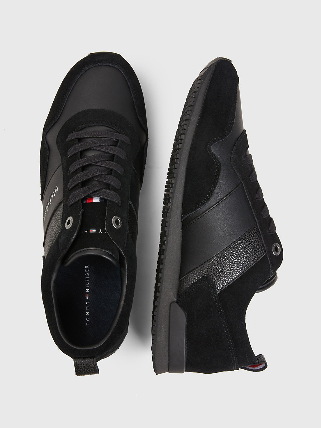 Tommy Hilfiger - Iconic Lace-Up Trainers - 4