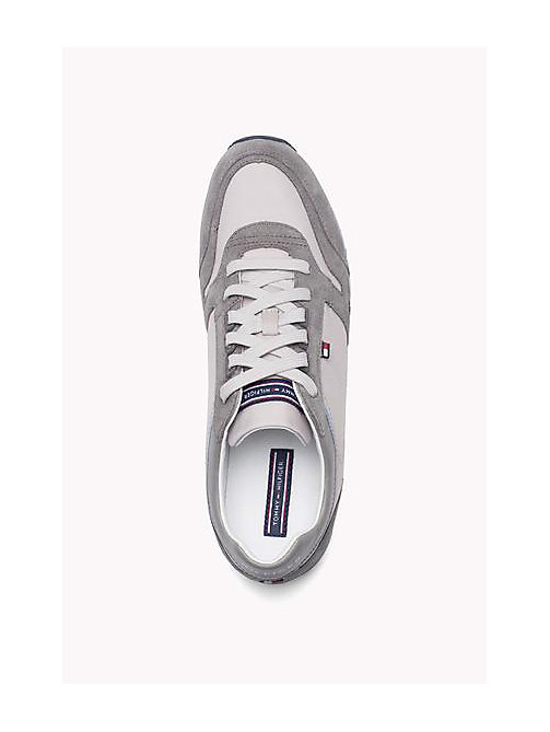 TOMMY HILFIGER Athletic Sneaker - STEEL GREY - DIAMOND GREY - TOMMY HILFIGER Shoes - detail image 1