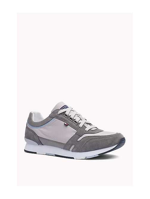 TOMMY HILFIGER Athletic Sneaker - STEEL GREY - DIAMOND GREY - TOMMY HILFIGER Shoes - main image