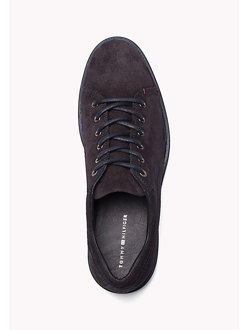 TOMMY HILFIGER Suede Lace-Up Sneaker - MIDNIGHT - TOMMY HILFIGER Shoes - detail image 1