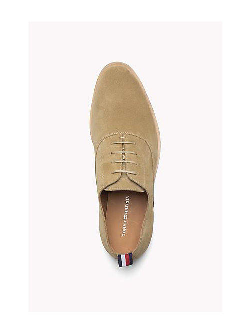 TOMMY HILFIGER Suede Lace-Up Shoe - CASHMERE - TOMMY HILFIGER Shoes - detail image 1