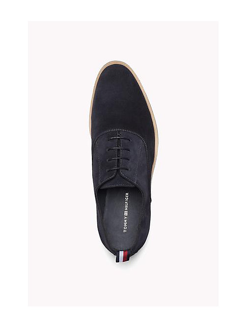 TOMMY HILFIGER Suede Lace-Up Shoe - MIDNIGHT - TOMMY HILFIGER Shoes - detail image 1