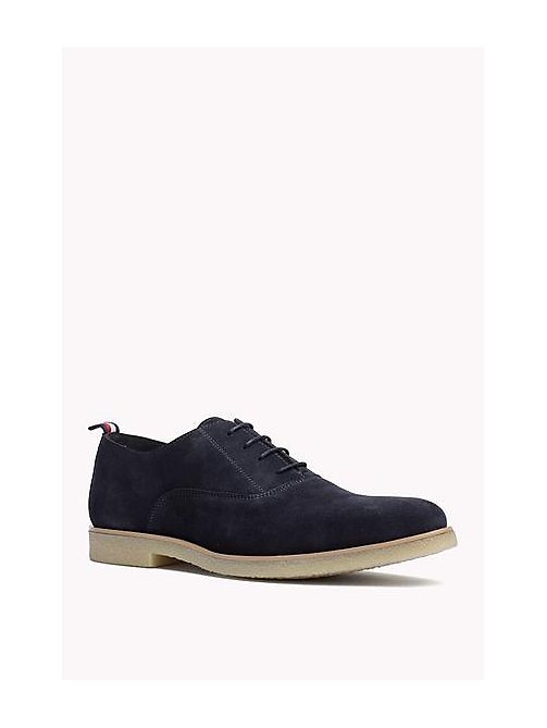 TOMMY HILFIGER Suede Lace-Up Shoe - MIDNIGHT - TOMMY HILFIGER Shoes - main image